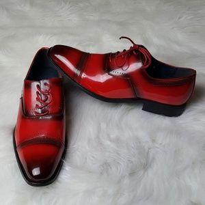 9c00c079 UV Signature Shoes   Nwb Mens Red Cap Toe Oxfords   Poshmark